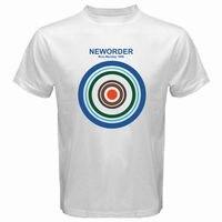 Nuevo orden azul lunes 1988 Rock Band hombres camiseta blanca talla S a 3XL