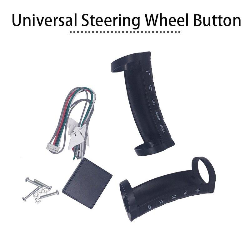 Accessoires de voiture universel sans fil couvre-volant contrôleur Botton pour Toyota Honda Civic 2006-2011 Peugeot 307 206 308 - 2