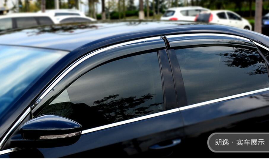 2017 2016 For Nissan Altima Teana Visor Vent Shades Sun Pioggia Guard Deflettore 4 Pz