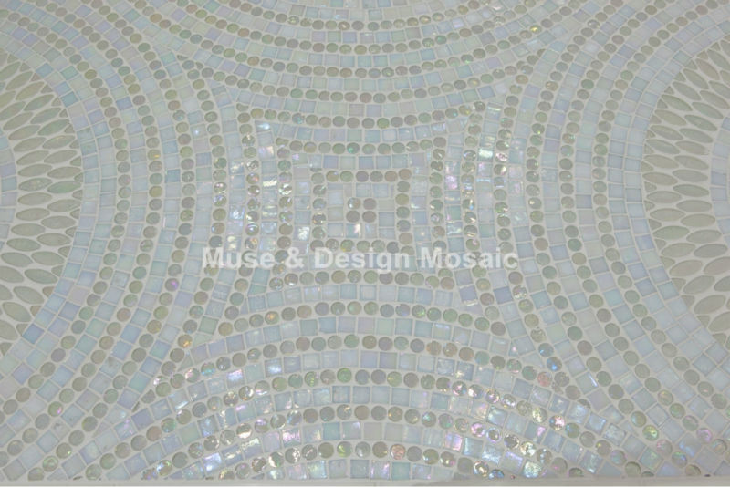 Online buy wholesale kitchen floor tile design from china for Custom mosaic tile mural
