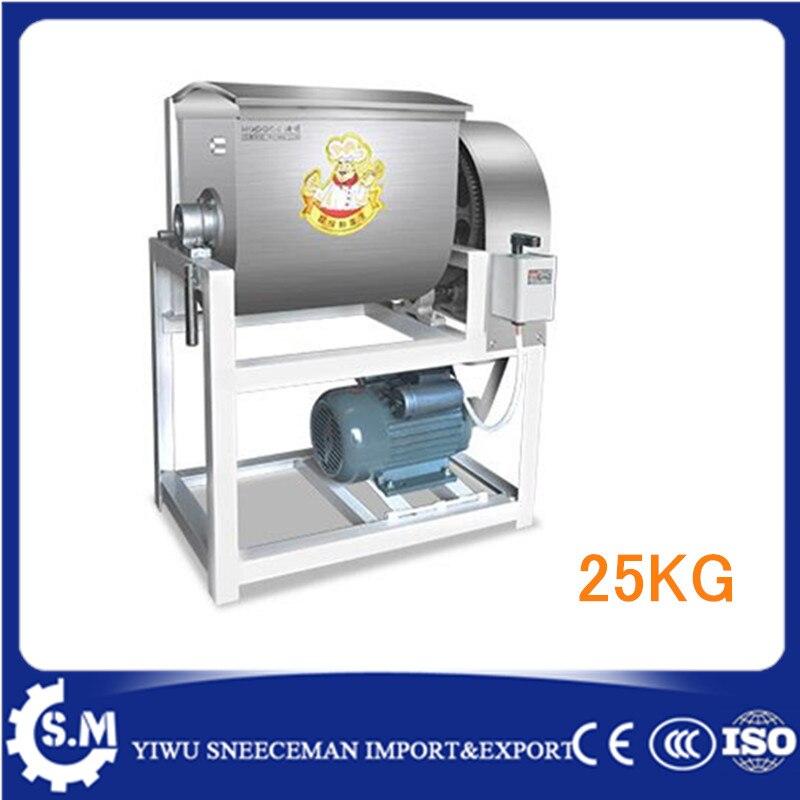 25kg Electric home dough kneading machine dough moulding machine pizza dough rolling machine