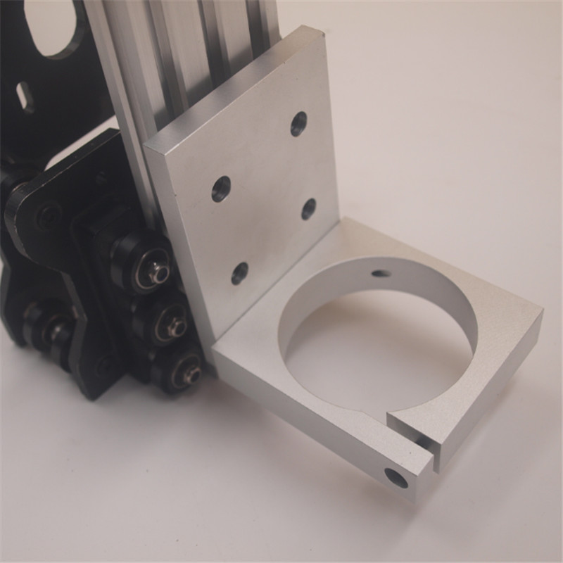 Funssor aluminum alloy 2.8inch CNC ROUTER SPINDLE MOUNT 2060 v-slot FOR COLT PALM ROUTER 71MM on OX CNC router parts