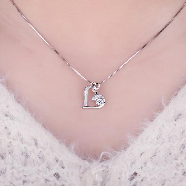 Infinite Love Sterling Silver Pendant