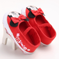 New Lovely Kids Gilrs Cartoon Prewalker Shoes Newborn Infant Soft Soled Baby Minnie Shoes Bebe First Walkers