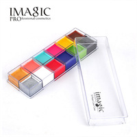 IMAGIC Face Painting Flash Tattoo Face Body Paint Oil Painting Art Halloween Party Fancy Dress Beauty