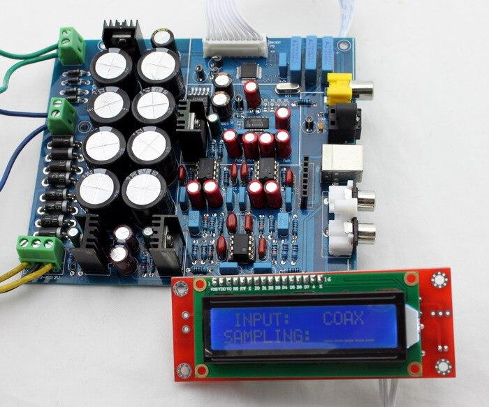 NEW DAC Decoder Board PCM1794 + AK4118 Softwave Control DAC Decoder No USB Daughter Card