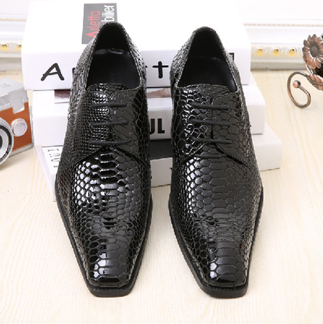 469c66b9e14 Handmade Men Genuine Leather Shoes Obsolescence-free Classical Men Black  Dress Shoes Lace Up Mens Oxfords Free Shipping