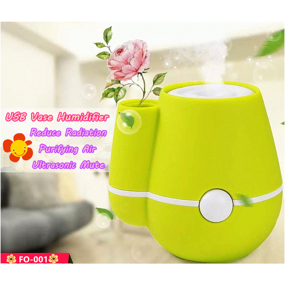 Usb-hause Vase Luftbefeuchter Silent Mode Feuchte Ultraschall - Haushaltsgeräte