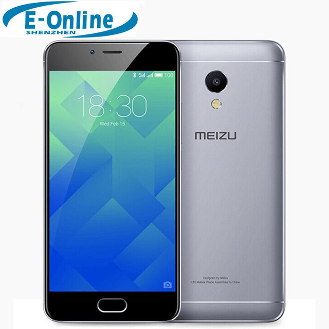 "In stock Original Meizu M5S 4G LTE Cell Phone MTK 6753 Octa Core 2.5D Glass 5.2"" Touchscreen 3GB RAM 16/32GB ROM Fast charge"