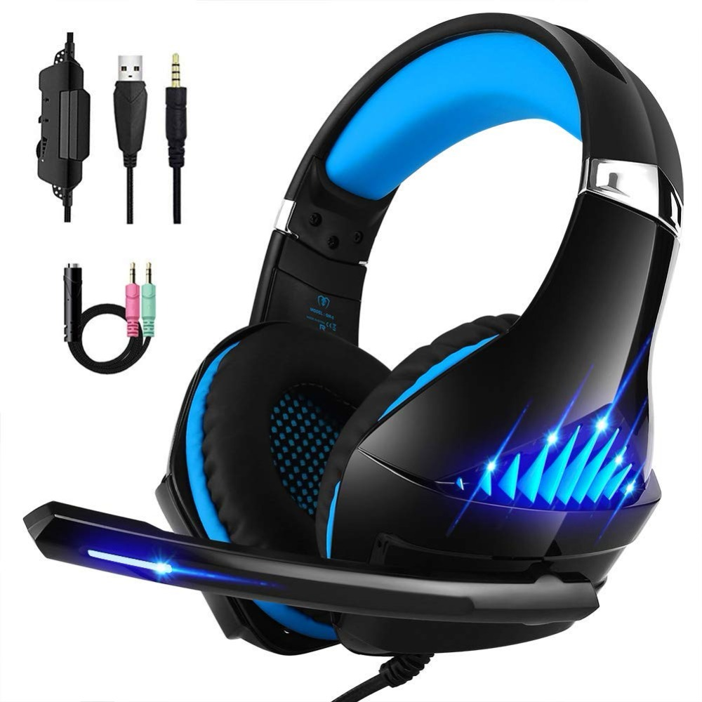 Beexcellent GM 5 Gaming Headset for Xbox One PS4 PC Stereo