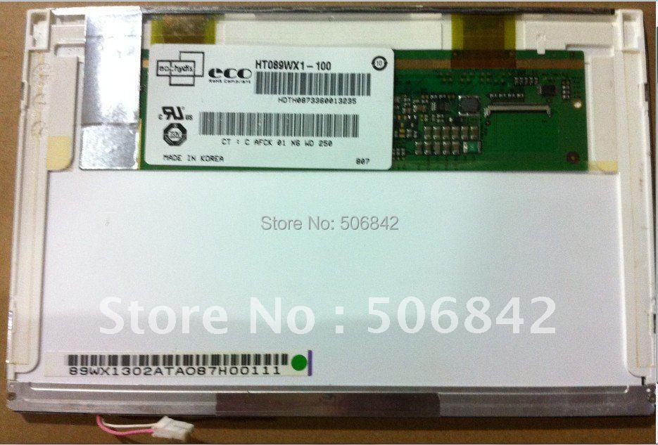 """8,"""" дюймовый светодиодный экран HT089WX1-100, 1280*768"""