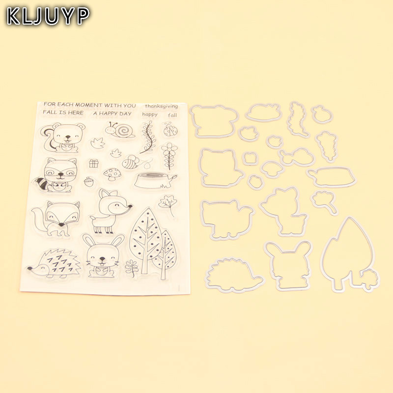 KLJUYP Happy Christmas Stamp Metal Cutting Dies Stencils for DIY Scrapbooking/photo album Decorative Embossing DIY Paper Card