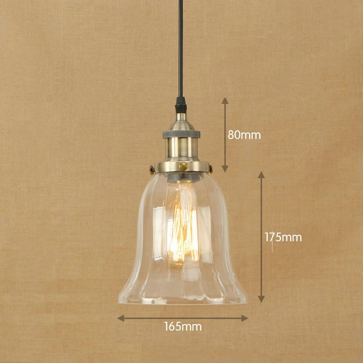 IWHD Glass Pendant Lamp Lights Style Loft Industrial Lighting Pendant Light Fixtures Vintage Retro Lamps Hanglamp Kitchen Lustre new loft vintage iron pendant light industrial lighting glass guard design bar cafe restaurant cage pendant lamp hanging lights