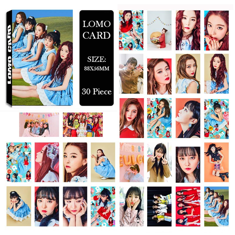 US $2 24 25% OFF|Youpop KPOP Red Velvet Irene SeulGi Wendy Joy Album LOMO  Cards K POP New Fashion Self Made Paper Photo Card Photocard LK414-in