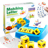 707 18 merken Worte Passenden Brief Lernen Alphabet Karten Mischen Spielzeug Lernen Englisch Lehren Spielzeug Frühe Bildung Spielzeug|Mathe-Spielzeug|   -