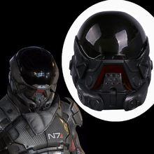 Лидер продаж маска Андромеда для косплея шлем из ПВХ реквизит