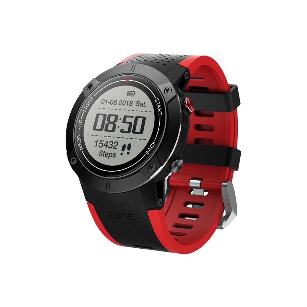 DM18 GPS Sports Watch Smart Band Stopwatch Alarm Clock Sedentary Pedometer Heart Rate Monitor Waterproof Wristwatch цена и фото