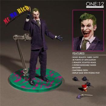 Batman Joker Vestiti Reali Versione Figura The Joker Azione Pvc Figure Giocattolo Brinquedos Regalo Di Natale 15 cm