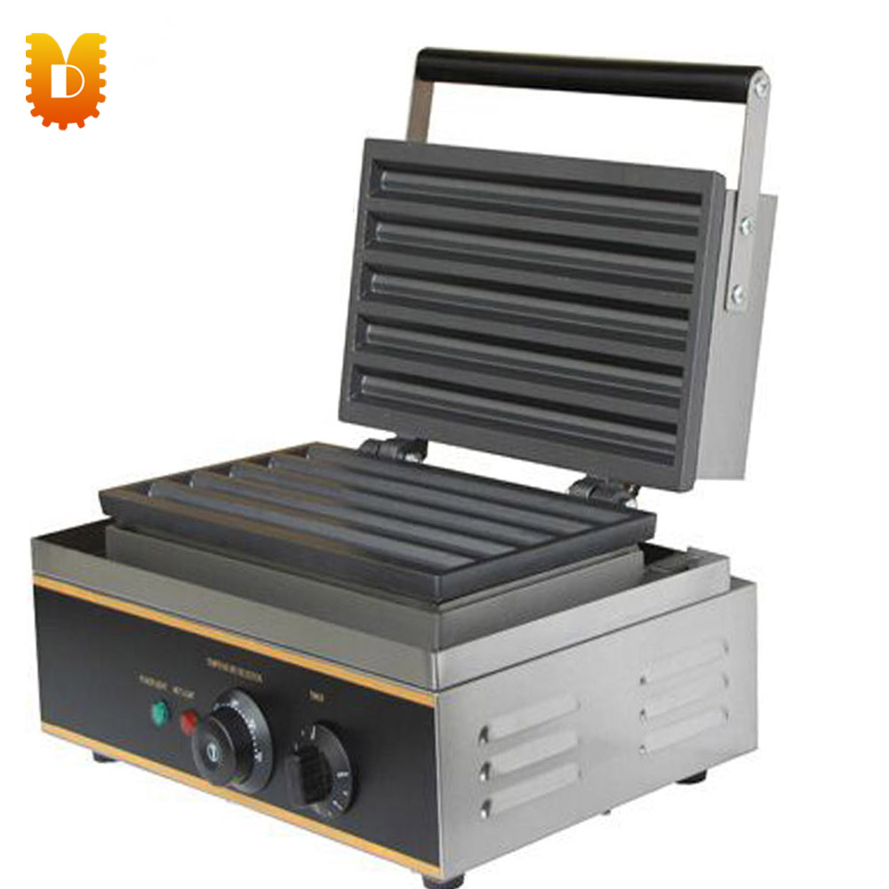 Electric Churros Machine Waffle Maker Commerical and household economic and elegance waffle maker machine baker doulbe head electric churros with bar shaped and popsicle