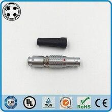 LEMO Connector FGG 0B 4 Pin Male Connector 0B FGG Plug Cross
