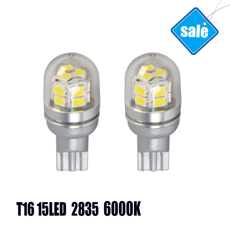 Pair Sale T16 Automotive LED Light Sourcing Cars Bulbs Factory Wholesale Sale High Power ...