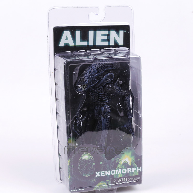 NECA ALIEN Xenomorph PVC Action Figure Collectible Model Toy 19cm neca a nightmare on elm street 2 freddy s revenge 3 dream warrior freddy krueger pvc action figure collectible model toy 50cm