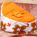 FREE SHIPPING baby seat cover with 2pcs orange up cover baby bean bags cover baby bean bag seat waterproof bean bag furniture
