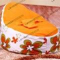 FRETE GRÁTIS tampa de assento do bebê com 2 pcs laranja up cover bebê sacos de feijão tampa do saco de feijão do bebê assento mobília do saco de feijão à prova d' água