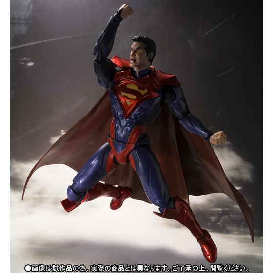 Superman Action Figure In Justice S.H.Figuarts 160MM Anime Model Toys Superman Dawn of Justice Movie Cartoon SHF psychology in action