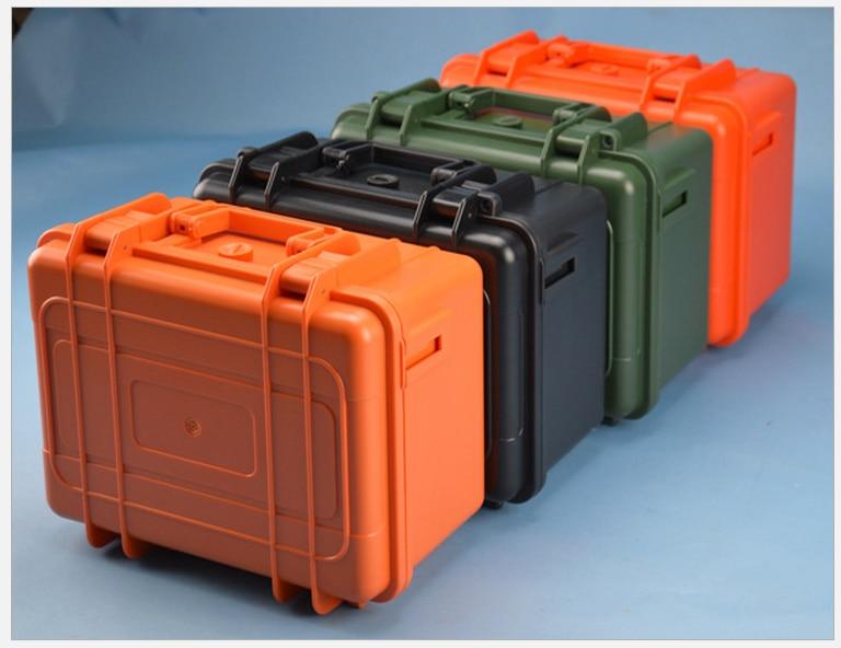 Tool case ABS toolbox Impact resistant sealed waterproof cas