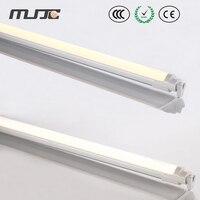 MJJC светодиодный трубы Супер яркий 4FT 1,2 м 18 Вт 22 Вт T8 светодиодный трубки огни с 110 В 220 В 230 В AC SMD2835 для дома Освещение в помещении