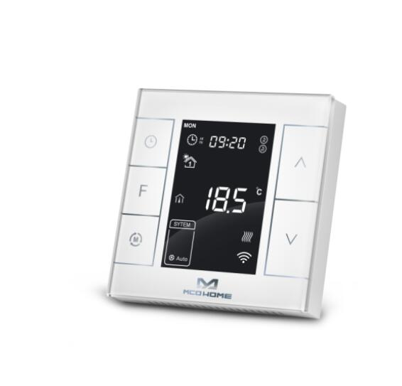 MCOHOME Water Electrical Heating Thermostat MH7 series Z Wave PLUS enabled programmable thermostat