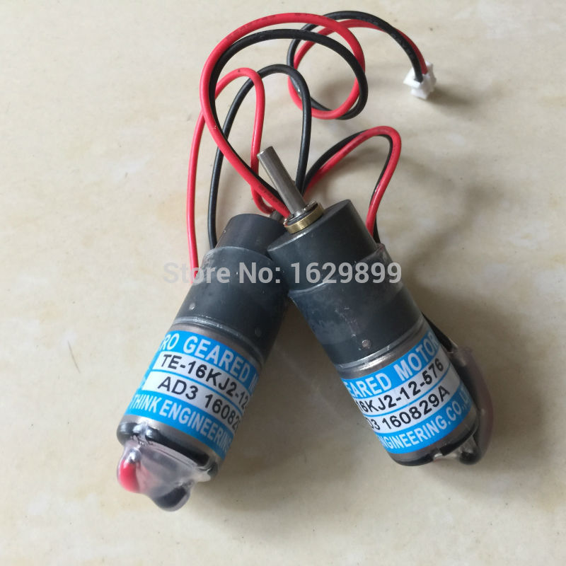 1 piece Roybi ink key motor TE-16KJ2-12-576 TE16KJ2-12-576 roybi ink motor 10 pieces dhl free shipping roybi ink key motor te16km 24 864 roybi printing machine parts te 16km 24 864