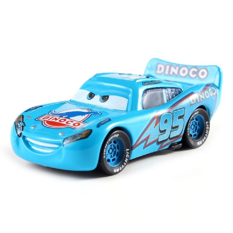 Cars Disney Pixar Cars No.95 Dinoco McQueen Metal Diecast Toy Car 1:55 Loose Brand New In Stock Cars2 And Cars3 Free Shipping