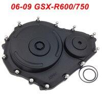 For Suzuki 06 09 GSXR600 GSXR750 GSXR 600 750 Engine Stator Crank Case Cover Engine Guard Side Shield Protector 2006 2007 2009