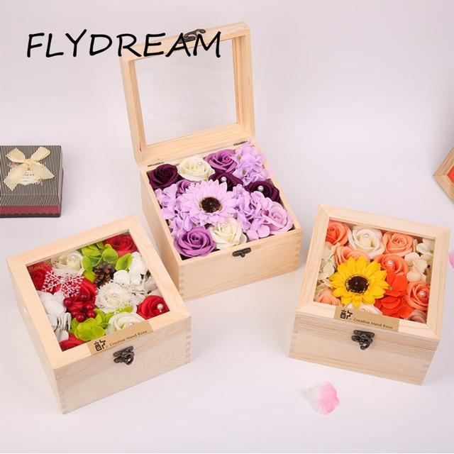 Flydream Kunstliche Blume Valentinstag Liebhaber Romantische Diy