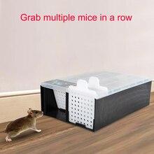 Trampa de ratones continua, atrapador de roedores humanos, atrapa ratones vivos, varios ratones en fila
