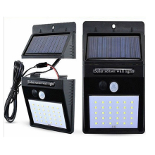 20/30 LEDs Split Solar Powered Light PIR Motion Sensor 3 Modes Waterproof Separate Garden Street Night Lamp Wall Light