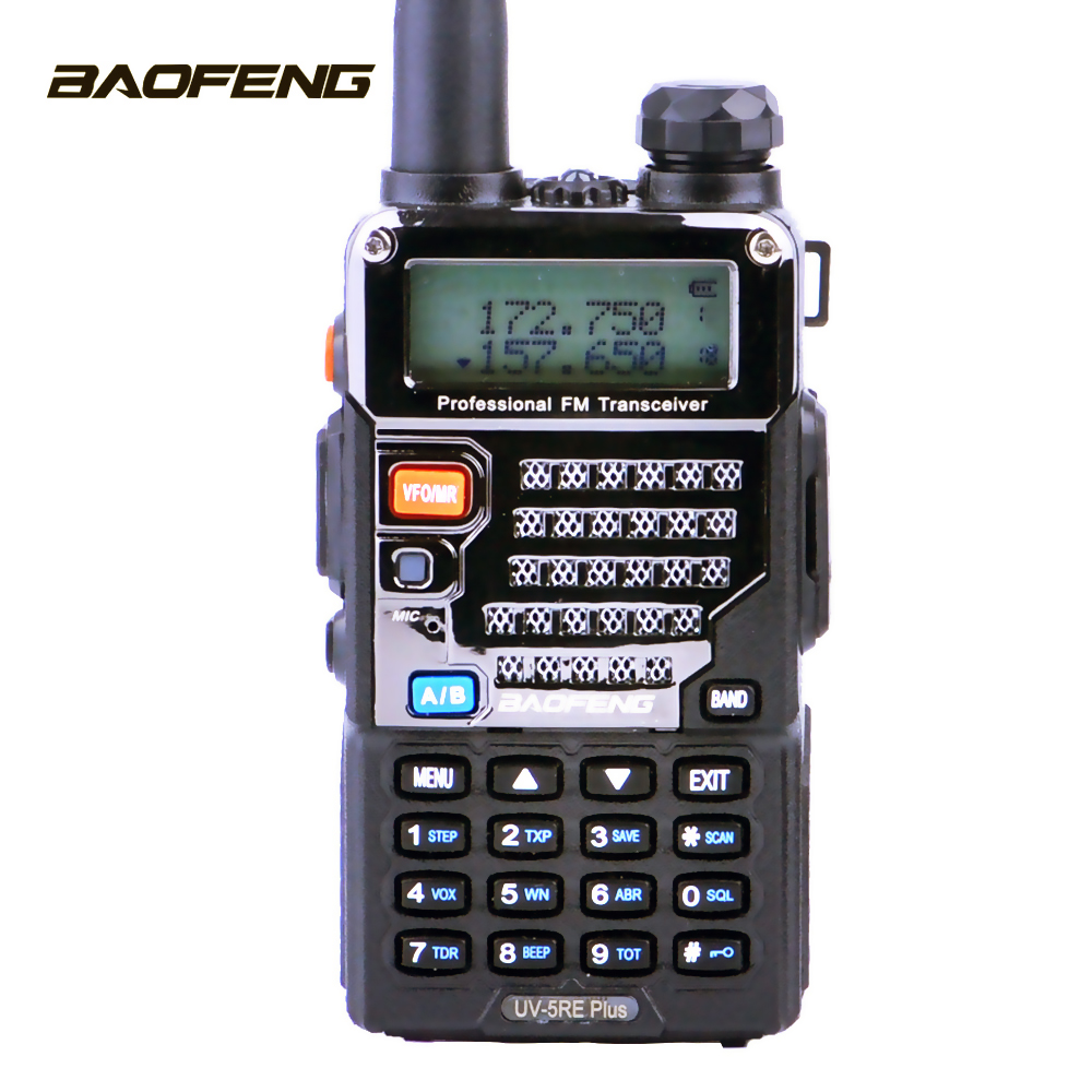 Walkie Talkie Baofeng UV-5RE Plus Two-way Radio UHF VHF Dual Band Cb Radio Uv-5r 5W Portable Ham Radio For Hunting Transceiver