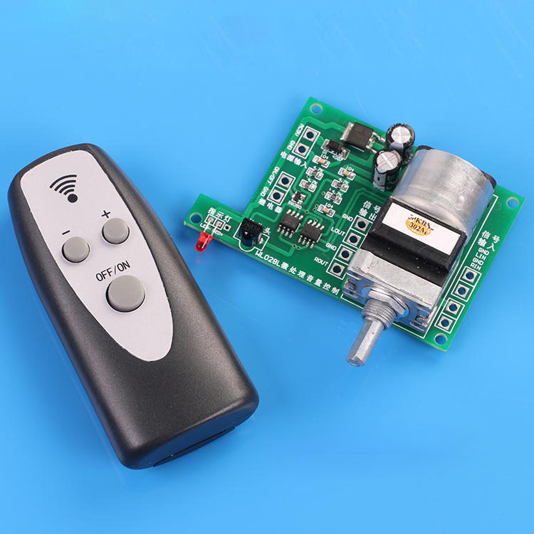 Remote Control Volume Board / Audio Preamplifier Microcomputer Control Volume Board cs3310 remote preamplifier board with vfd display 4 way input hifi preamp remote control digital volume control board page 4