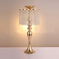 68cm Height Wedding Table Centerpiece Crystal Flower Stand