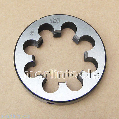 52mm x 2 Metric Right hand Thread Die M52 x 2.0mm Pitch 52mm x 2 metric right hand thread die m52 x 2 0mm pitch