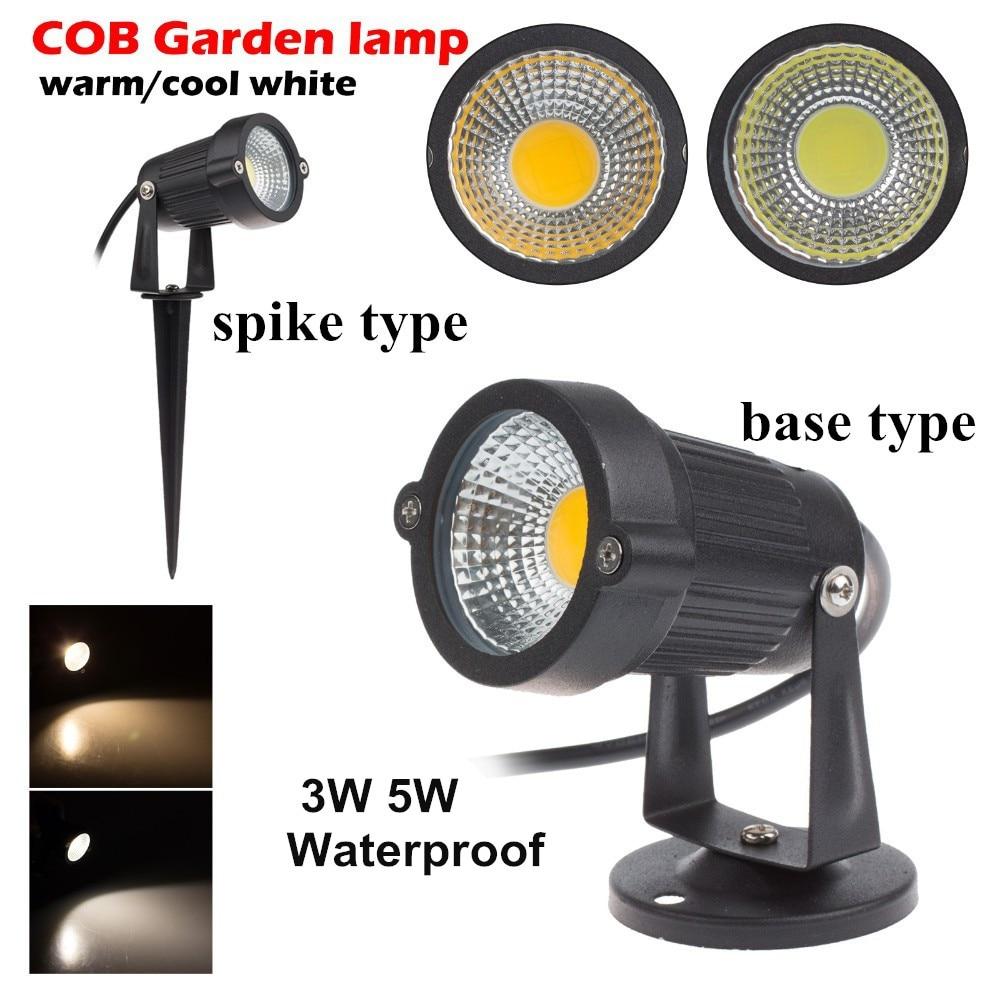 LED kerti LED gyeplámpa 12V DC COB lámpák kerti 3W 5W 7W 9W DC12V LED gyepvilágítás 12V LED gyep kerti fénnyel világító lámpa