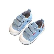 Anak Laki-laki Kanvas Sneskers 2018 Musim Semi Bayi Perempuan Balita Sepatu Anak-anak Sepatu Kasual Anak-anak Sneakers Remaja Perempuan Sepatu Olahraga