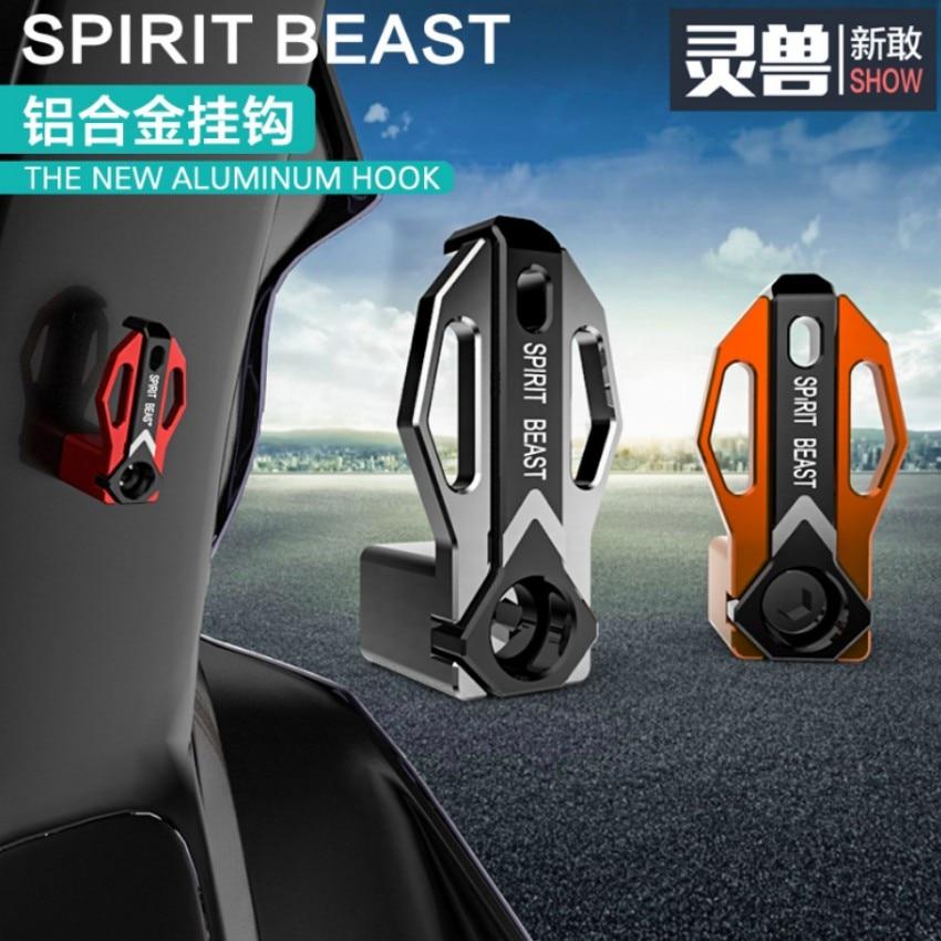 Spirit Beast motorcycle al holder styling Helmet hook