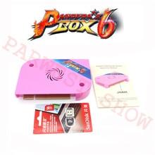 Yeni orijinal pandoranın kutusu 6 Jamma sürüm 1300 in 1 Arcade oyun tahtası desteği CGA/VGA/HDMI pandora 4 HD Video