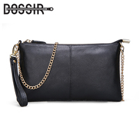 14 Color Genuine Leather Women S Bag Designer High Quality Clutch Fashion Women Leather Handbags Chain