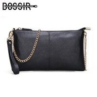 14 Color Genuine Leather Women S Bag Designer High Quality Clutch Fashion Women Leather Handbags Chain