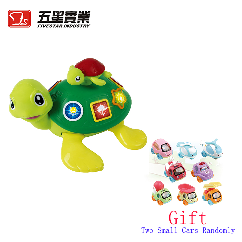 FS TOYS 1 PC 34683 Universal Seaturtles electronic pets toys parent child electronics toys for kids educational toy for children