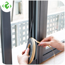 Soft 2M Self-adhesive window sealing strip car door noise insulation Rubber dusting sealing tape Window Accessories GUANYAO(China)